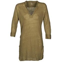 Kleidung Damen Tuniken Majestic 530 Kaki