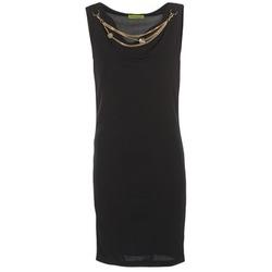 Kleidung Damen Kurze Kleider Versace Jeans NDM931 Schwarz
