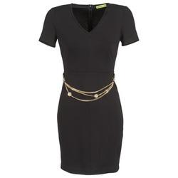 Kleidung Damen Kurze Kleider Versace Jeans NDM911 EASY Schwarz