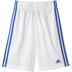 Kleidung Kinder Shorts / Bermudas adidas Performance Short Commander Junior Weiss