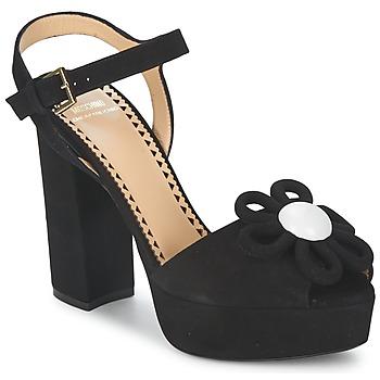 Schuhe Damen Sandalen / Sandaletten Moschino Cheap & CHIC CA1617 Schwarz