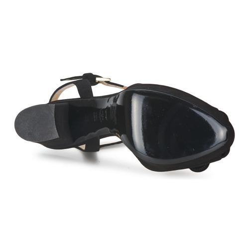 Moschino CA1617 Cheap & CHIC CA1617 Moschino Schwarz  Schuhe Sandalen / Sandaletten Damen 373,60 5bdf09