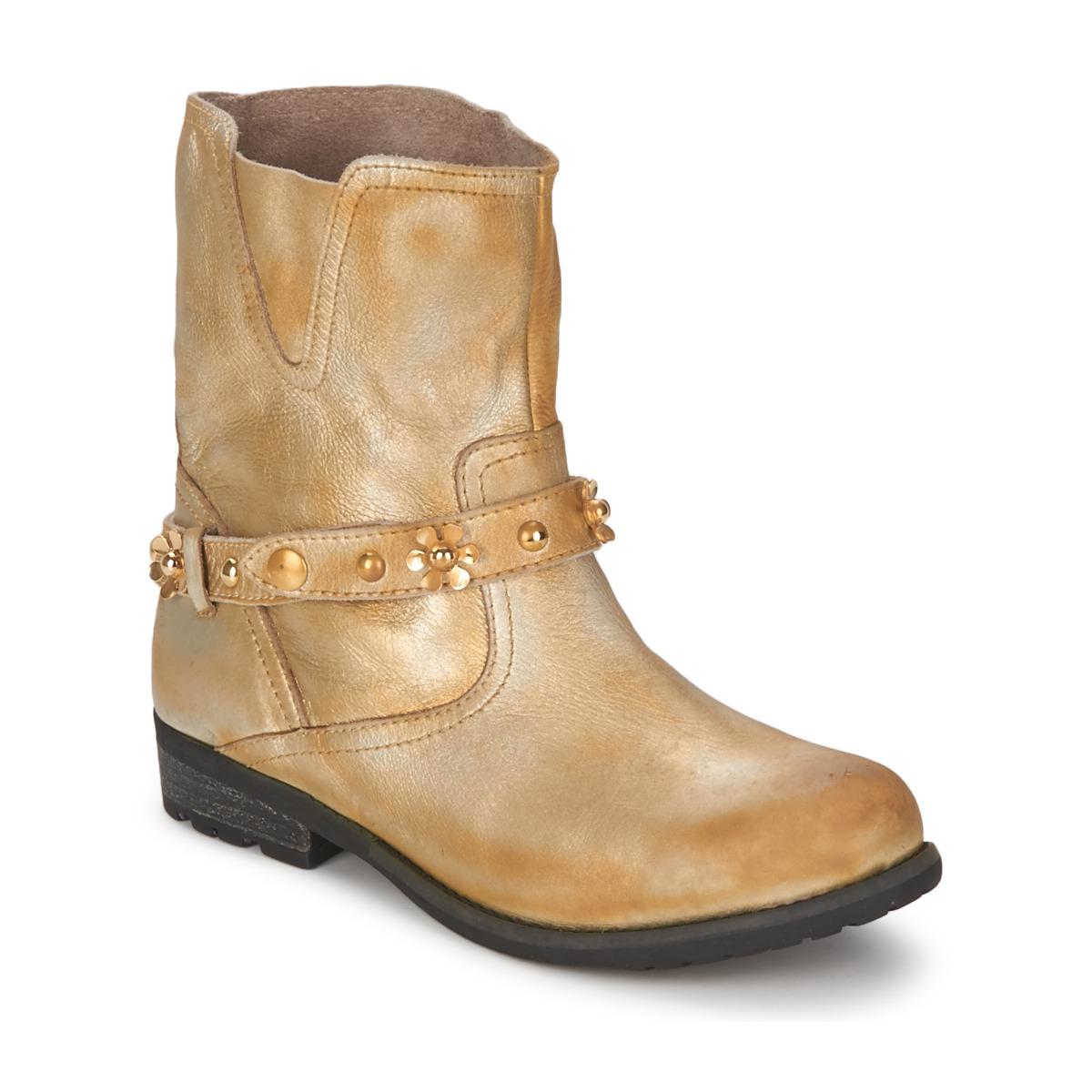 Moschino Cheap & CHIC CA21013 Gold - Kostenloser Versand bei Spartoode ! - Schuhe Boots Damen 231,00 €