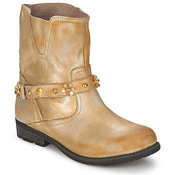 Schuhe Damen Boots Moschino Cheap & CHIC CA21013 Gold