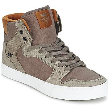 Schuhe Sneaker High Supra VAIDER Braun