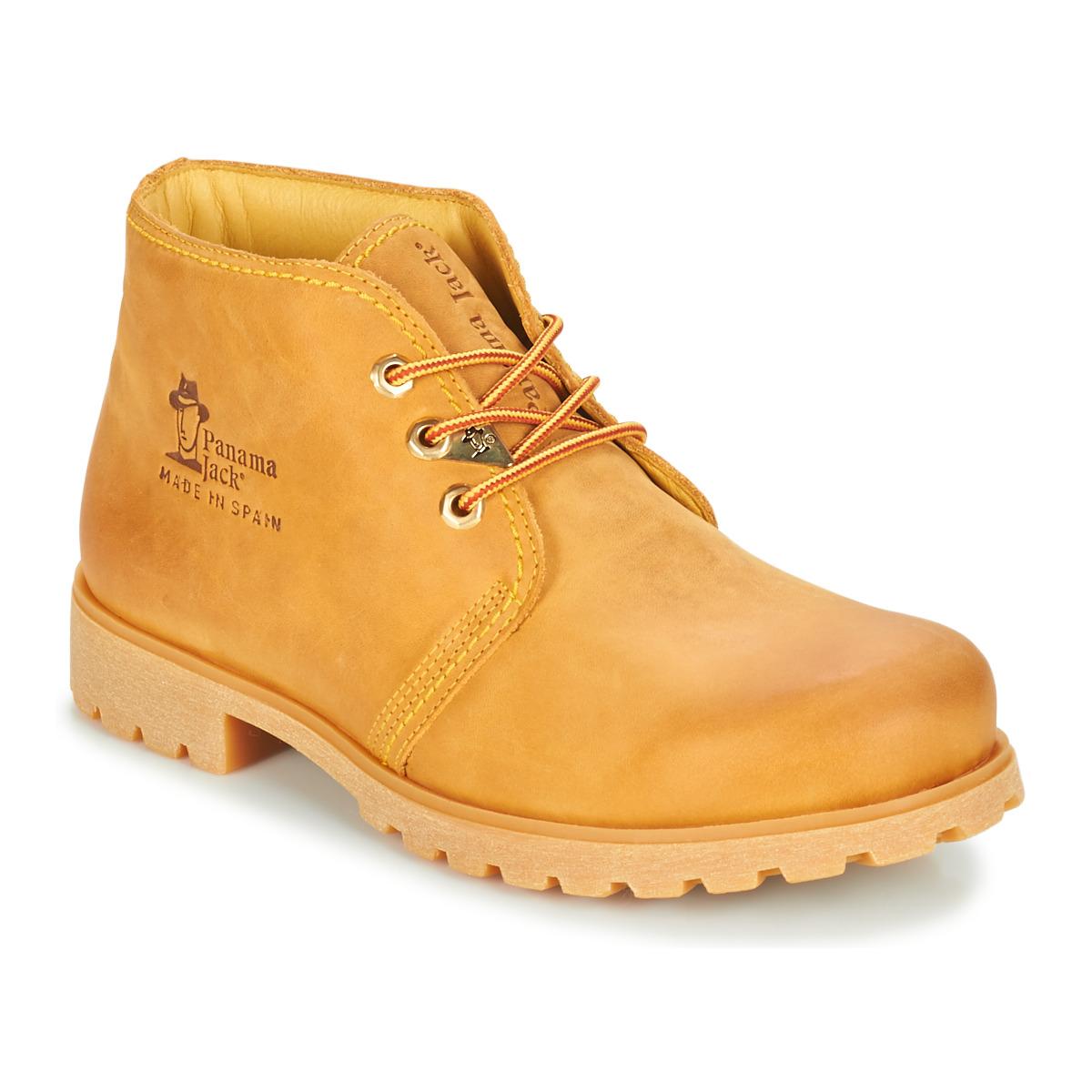 Panama Jack BOTA PANAMA Beige - Kostenloser Versand bei Spartoode ! - Schuhe Boots Herren 134,10 €