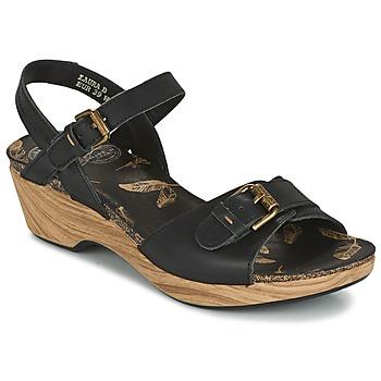 Schuhe Damen Sandalen / Sandaletten Panama Jack LAURA Schwarz