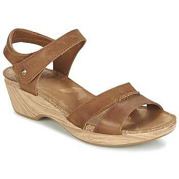 Schuhe Damen Sandalen / Sandaletten Panama Jack LARISA Braun
