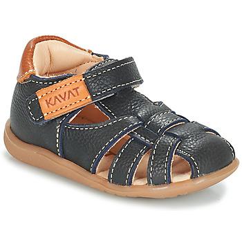 Schuhe Jungen Sandalen / Sandaletten Kavat RULLSAND Blau / Marine
