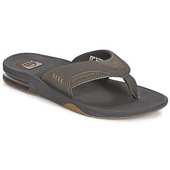 Schuhe Herren Zehensandalen Reef FANNING Grau