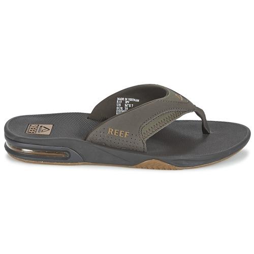 Reef FANNING Grau Schuhe Zehensandalen Herren 41,59