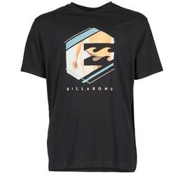 Kleidung Herren T-Shirts Billabong HEXAG SS Schwarz