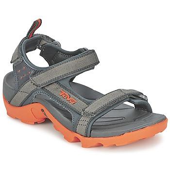 Schuhe Jungen Sportliche Sandalen Teva TANZA Grau