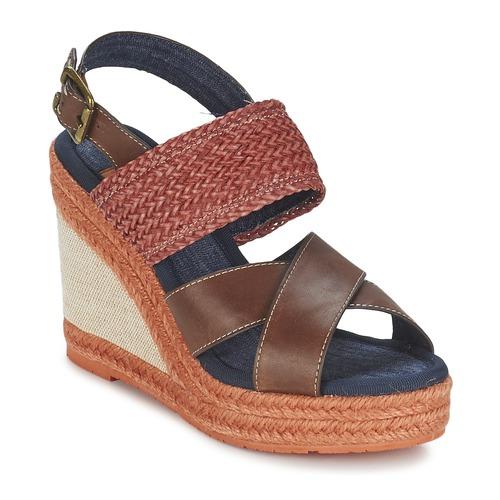 Napapijri BELLE Braun / Rot  Damen Schuhe Sandalen / Sandaletten Damen  73,50 e27997