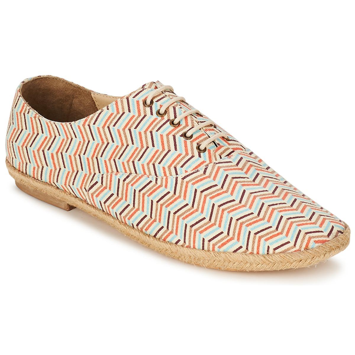 Petite Mendigote SIZERIN Multifarben - Kostenloser Versand bei Spartoode ! - Schuhe Richelieu Damen 37,50 €