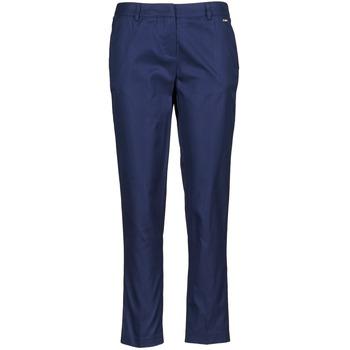 Kleidung Damen 3/4 Hosen & 7/8 Hosen La City PANTD2A Blau