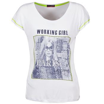 Kleidung Damen T-Shirts La City TMCD3 Weiss