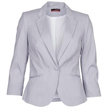 Kleidung Damen Jacken / Blazers La City VST1D6 Grau