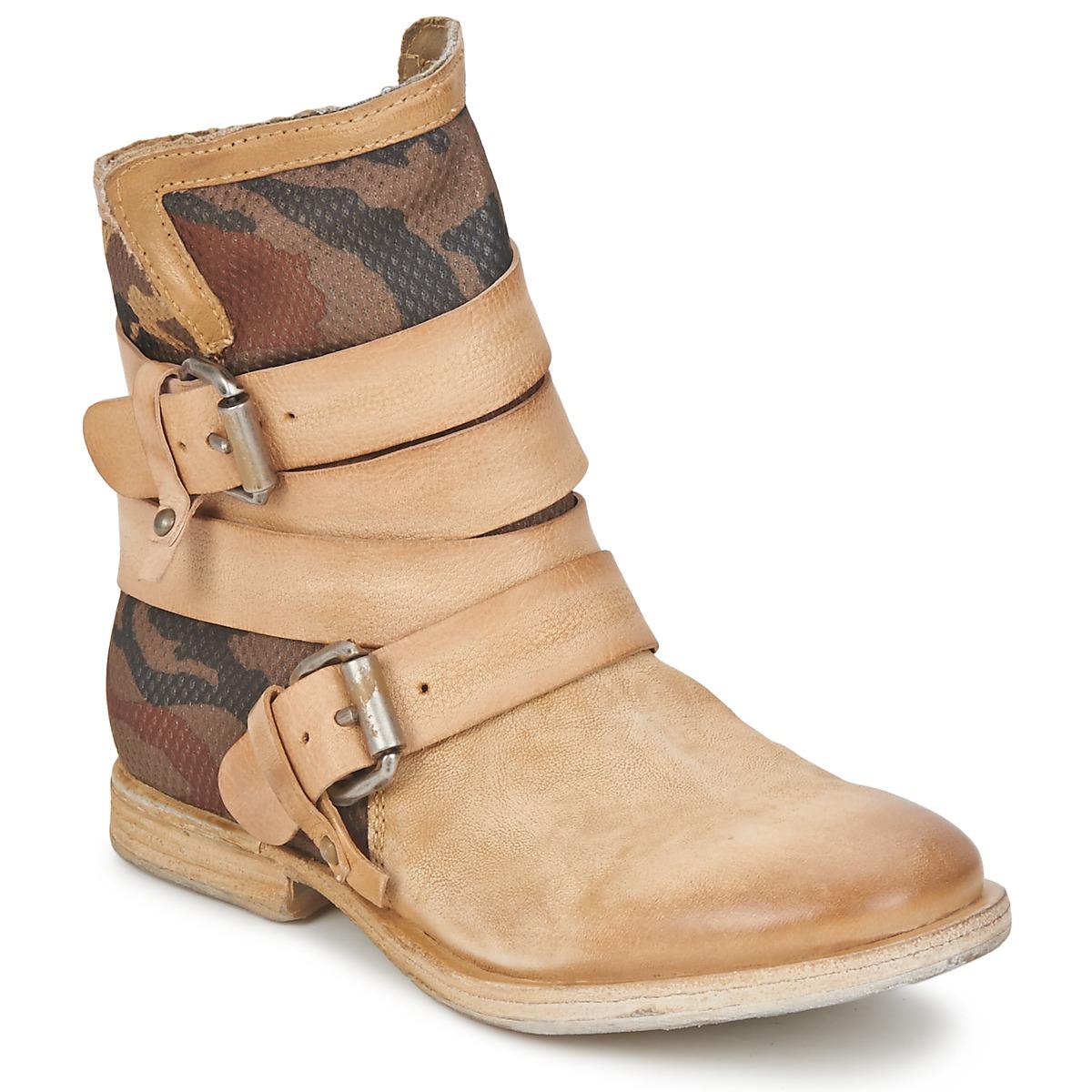 Airstep / AS98 TRIP METAL Beige - Kostenloser Versand bei Spartoode ! - Schuhe Boots Damen 137,40 €