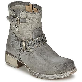 Schuhe Damen Boots Café Noir Boogry Grau