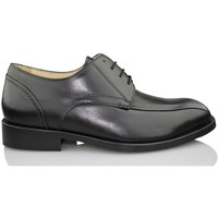 Schuhe Herren Derby-Schuhe Calzamedi komfortable Kleidschuh SCHWARZ
