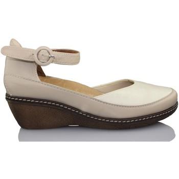 Schuhe Damen Pumps Calzamedi TANGON BEIGE