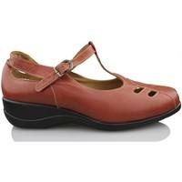Schuhe Damen Pumps Calzamedi Frau Mercedita BRAUN