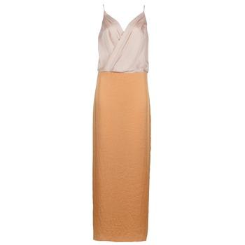 Kleidung Damen Maxikleider Lola RAPH Rose / Lachs