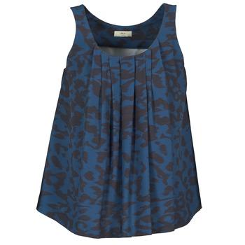 Kleidung Damen Tops Lola CUBA Blau / Schwarz