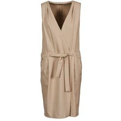 Kleidung Damen Kurze Kleider Lola ROOT Beige