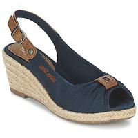 Schuhe Damen Sandalen / Sandaletten Tom Tailor FARALO Marine