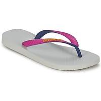 Schuhe Damen Zehensandalen Havaianas TOP MIX Weiss / Rose