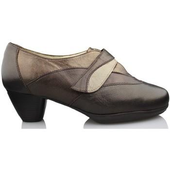 Schuhe Damen Pumps Drucker Calzapedic bequemen Schuhabsatz BRAUN