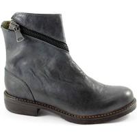 Schuhe Damen Low Boots J.p. David 32525 grigio scarpe donna stivaletti tronchetti apertura zip Grigio