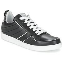 Schuhe Damen Sneaker Low Kenzo K-FLY Schwarz / Silbern