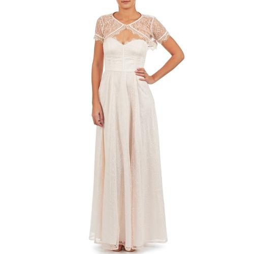 Manoukian 613346 Rose / Beige - Kostenloser Versand    - Kleidung Maxikleider Damen 13520 BnuJP