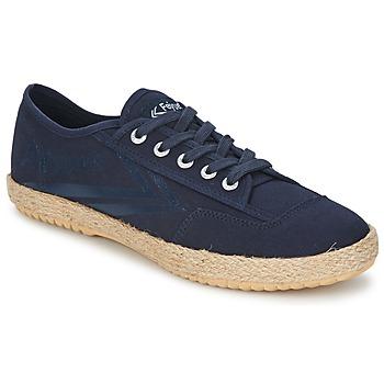 Schuhe Sneaker Low Feiyue FELO PLAIN Blau / Weiss