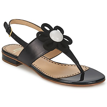 Schuhe Damen Sandalen / Sandaletten Moschino Cheap & CHIC CA16112C1ZCB Schwarz