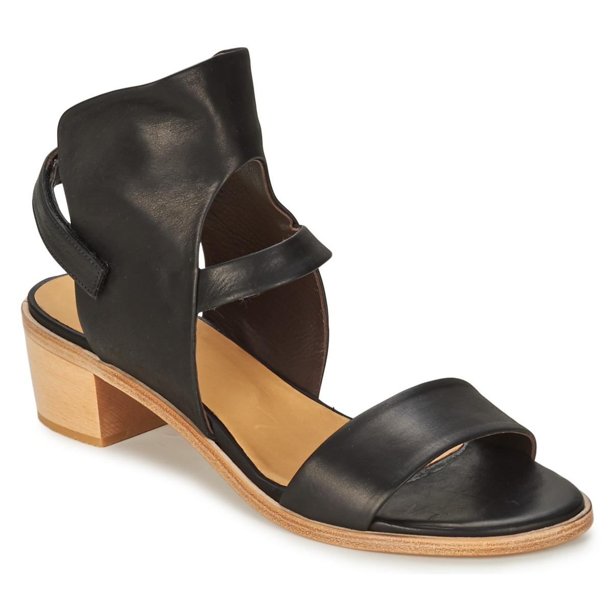 Coclico TYRION Schwarz - Kostenloser Versand bei Spartoode ! - Schuhe Sandalen / Sandaletten Damen 131,30 €
