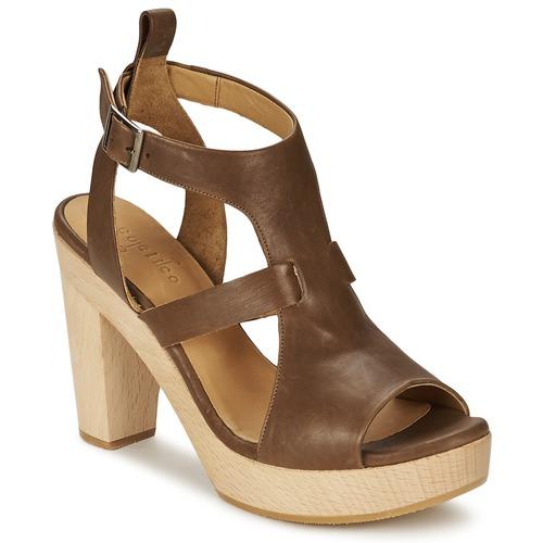 Coclico SHAE Braun  Schuhe Sandalen Damen / Sandaletten Damen Sandalen 117 9afe4d