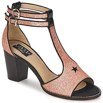 Schuhe Damen Sandalen / Sandaletten C.Petula JAIMIE Goldfarben / Rose