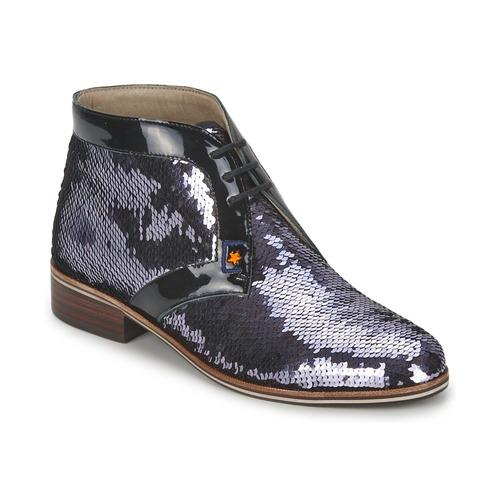 C.Petula PEGASE Silbern Schuhe Boots Damen 94,50