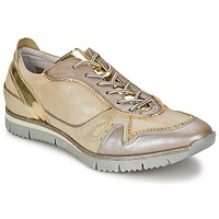 Schuhe Damen Sneaker Low Manas  Gold