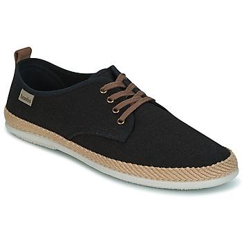 Schuhe Herren Sneaker Low Victoria BLUCHER LINO DETALLE SERRAJE Schwarz