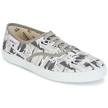 Schuhe Sneaker Low Victoria INGLES PALMERAS Beige