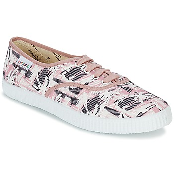 Schuhe Damen Sneaker Low Victoria INGLES PALMERAS Rose