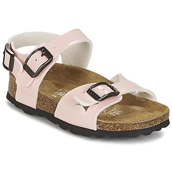 Schuhe Mädchen Sandalen / Sandaletten Betula Original Betula Fussbett JEAN Rose