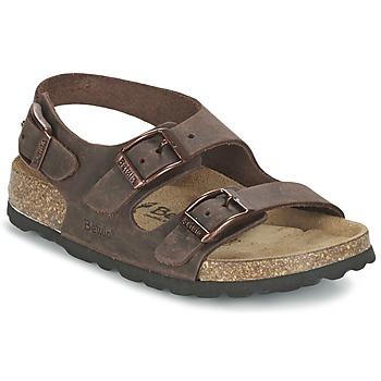 Schuhe Kinder Sandalen / Sandaletten Betula Original Betula Fussbett FUNK Braun