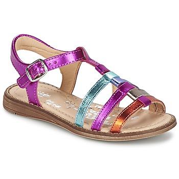 Schuhe Mädchen Sandalen / Sandaletten Babybotte KIRI2 Multifarben