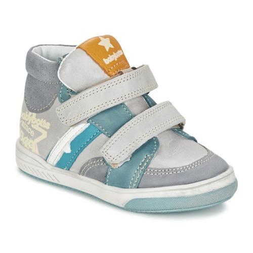 Schuhe Jungen Sneaker High Babybotte APPOLON Grau